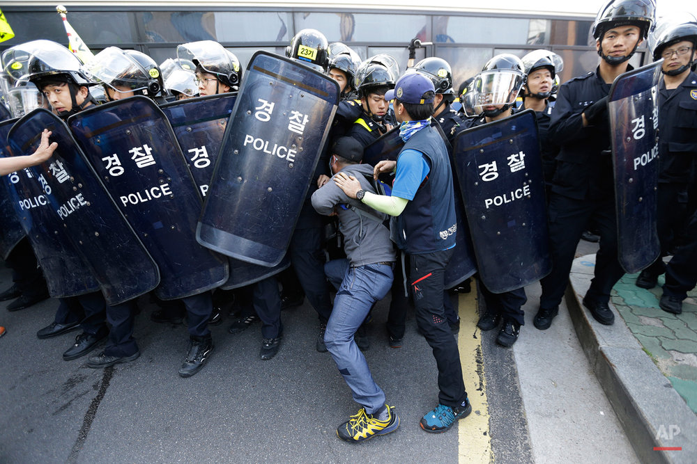 South Korea Protests May Day